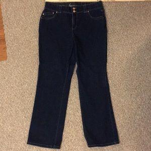 Lane Bryant Jeans - Like New Lane Bryant straight Leg Jean. 16 Average